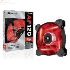 COOLER CORSAIR AF120 LED RED QUIET EDITION CO-9050015-RLED