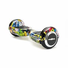 "SCOOTER ELECTRIC E-BODA 6.5"" FREEWHEEL COMPLETE GRAFFITI YELLOW"