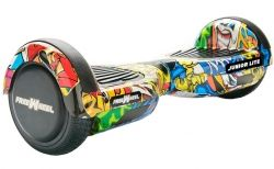"SCOOTER ELECTRIC E-BODA 6.5"" FREEWHEEL JUNIOR LITE GRAFFITI YELLOW"
