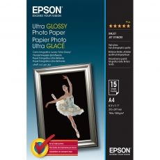 HARTIE CERNEALA EPSON ULTRA GLOSSY PHOTO A4 15COLI 300G C13S041927