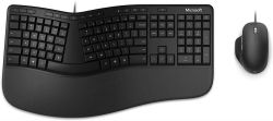 KIT MICROSOFT TASTATURA + MOUSE ERGONOMIC FOR BUSINESS RJY-00021