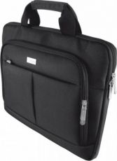 "GEANTA LAPTOP TRUST SYDNEY SLIM BAG 14"" - BLACK"