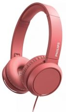 CASTI PHILIPS OVER EAR CU MICROFON RED TAH4105RD/00