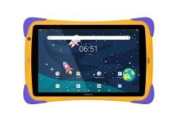 "TABLETA PRESTIGIO SMARTKIDS UP, 10.1"" HD, 1GB RAM, 16GB, WIFI, ORANGE VIOLET PMT3104_WI_D_EU"