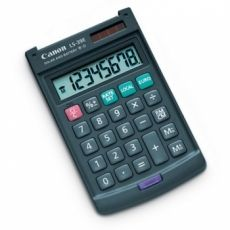 CALCULATOR BIROU CANON LS39EBL 8 DIGIT LCD