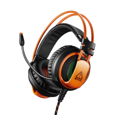 CASTI CANYON CORAX GAMING BLACK-ORANGE CND-SGHS5A