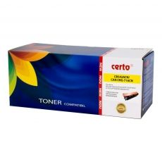 CARTUS TONER COMPATIBIL CERTO NEW YELLOW CB542ACN/CE322A/CF212A 1,8K HP LASERJET CP1215