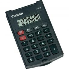 CALCULATOR BIROU CANON AS8 8 DIGIT GREY